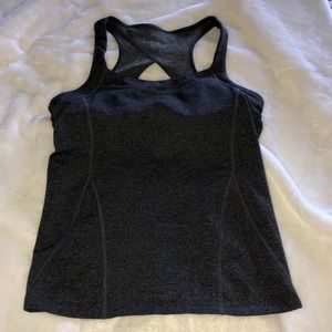 Athleta sports tank top size M with built in bra